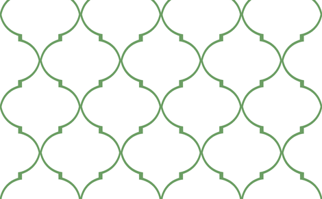 Kate Trellis in Kelly fabric by sparrowsong on Spoonflower - custom fabric