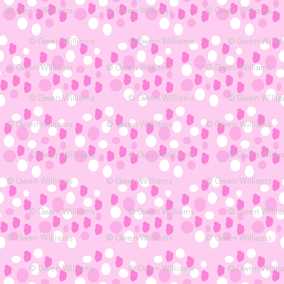 pink hexagons