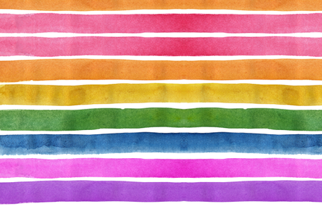 cestlaviv_rainbow REV fabric by cest_la_viv on Spoonflower - custom fabric