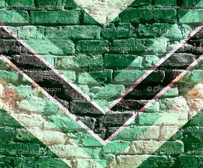 brick chevron