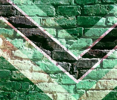 brick chevron fabric by paragonstudios on Spoonflower - custom fabric