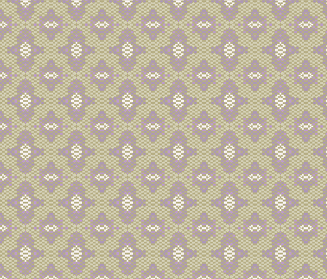 Wendy and Ruth pattern fabric by a_malcolm_studio on Spoonflower - custom fabric