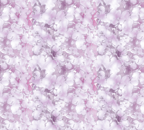 Sakurama - Cherry Petals fabric by bonnie_phantasm on Spoonflower - custom fabric