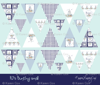 RJ's Bunting Small