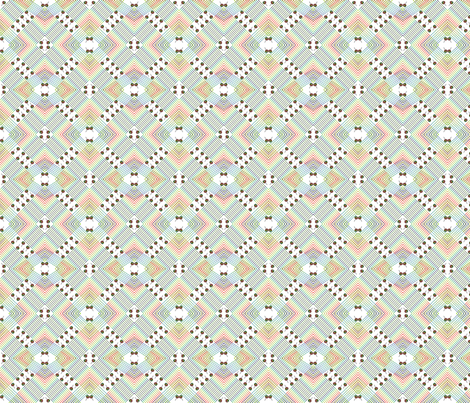 Lollipops and Rainbows fabric by ravynscache on Spoonflower - custom fabric