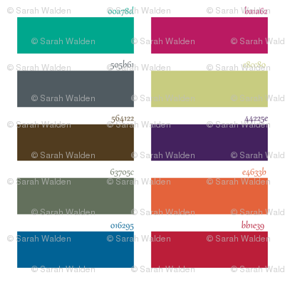 Fall 2013 Fashion Colors