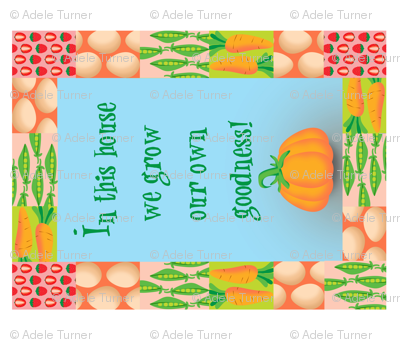 In This House...(teatowel or decal)