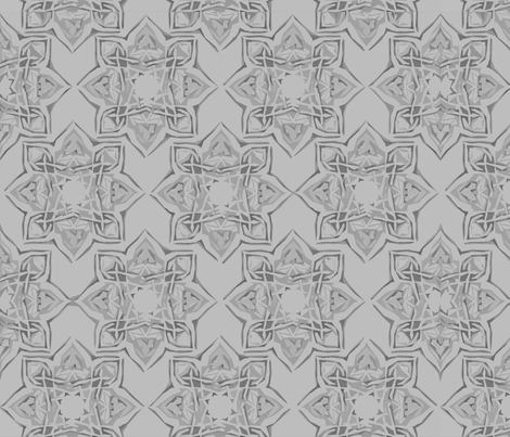 Kayseri in Charcoal fabric by delsie on Spoonflower - custom fabric
