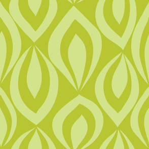 Leafyrific-lime on chartreuse