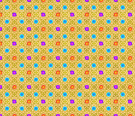 FLORAL fabric by cuddlebat on Spoonflower - custom fabric