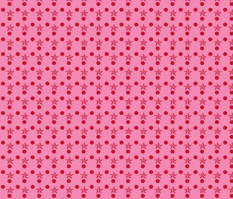 Star_Labels_3final-ch fabric by knita on Spoonflower - custom fabric