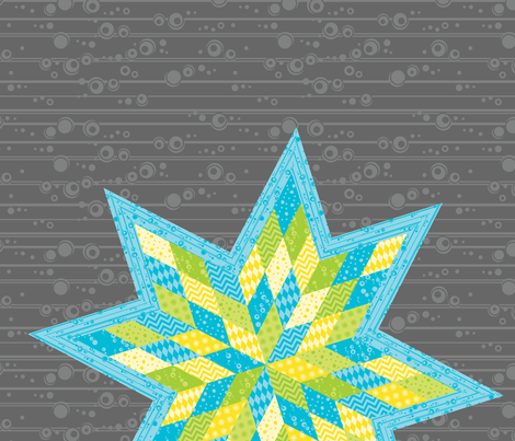 Morgan's Star fabric by robyriker on Spoonflower - custom fabric