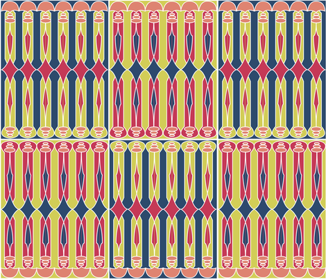DecoMatisse fabric by robinzstudio on Spoonflower - custom fabric