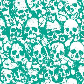 Skull Wall Emerald