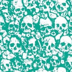 Skull Wall Emerald