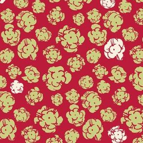 Firework Popcorn Flower Explosions. Linden / Samba / Eccru