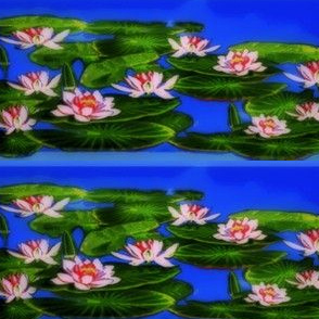 Lily_Pads_and_Lotus_on_Blue_copy-ed-ed