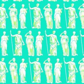 Kolonaki Goddess - Cyan