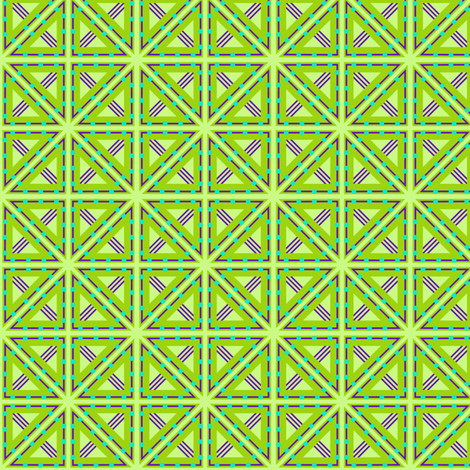 Kolonaki Triangles - Evening fabric by siya on Spoonflower - custom fabric