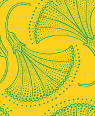 Kolonaki Morning Glory - Yellow