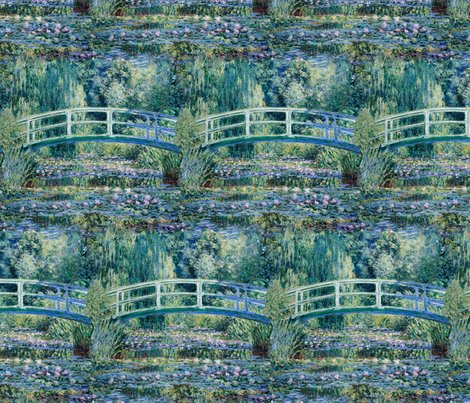 Rrrclaude_monet_-_water_lilies_and_japanese_bridge_-_halfbrickseamlesstile1_shop_preview