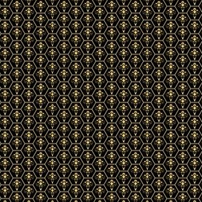 Abstract Bees and Honeycomb