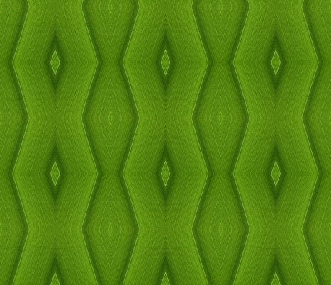 Leaf cells chevron - large fabric by greennote on Spoonflower - custom fabric