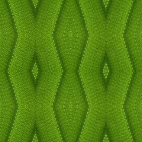 Lace chevron (leaf cells) fabric by greennote on Spoonflower - custom fabric
