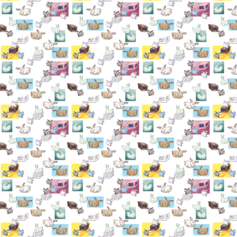 hoppin fabric by luvinewe on Spoonflower - custom fabric