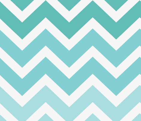 chevron ombre fabric by myracle on Spoonflower - custom fabric
