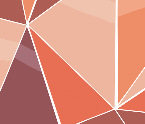 glass orange fabric by myracle on Spoonflower - custom fabric