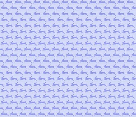 Pisanello's Rabbit fabric by sweetie_netts on Spoonflower - custom fabric