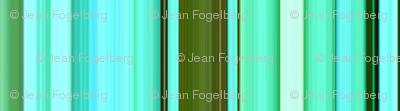 """Monet Pond"" Stripes"