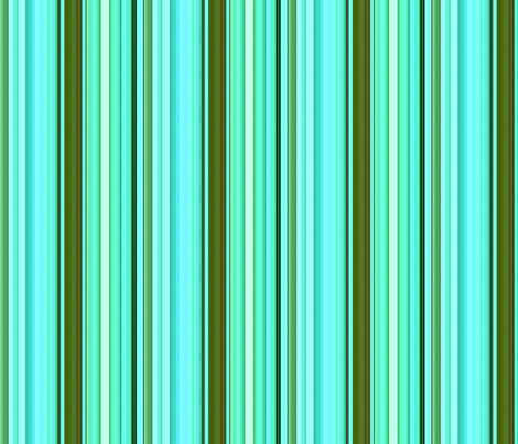 """Monet Pond"" Stripes fabric by jeanfogelberg on Spoonflower - custom fabric"