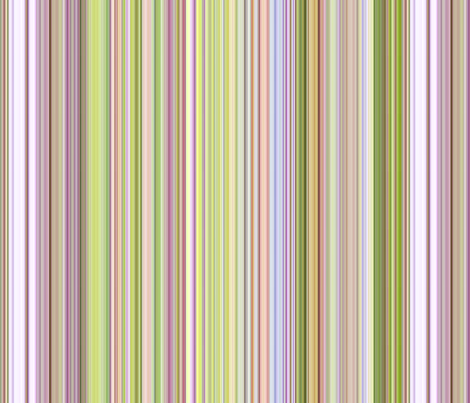 """Spring Garden"" Stripes fabric by jeanfogelberg on Spoonflower - custom fabric"