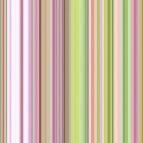 """""""Spring Garden"""" Stripes"""