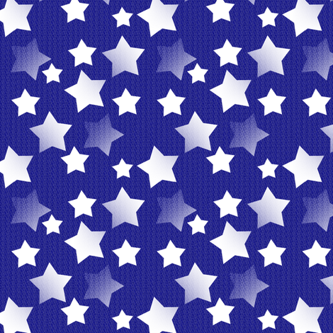 Star Night, Star Bright - Midnight fabric by telden on Spoonflower - custom fabric