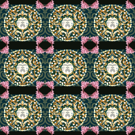 rococo fabric by anna_hernandez on Spoonflower - custom fabric