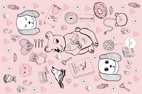 Rpygmyhippocottonvoilescarf-27x18-final-2pinks-vector-fab.pdf_shop_preview