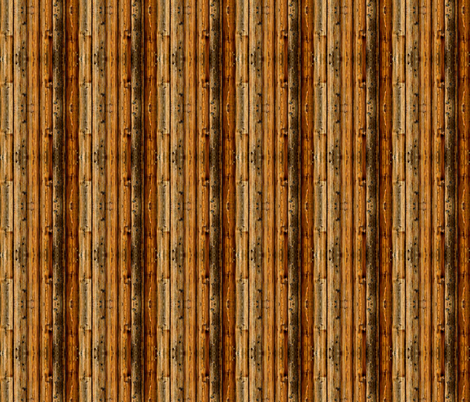 Doll House Wood Panelling/fencing. fabric by whimzwhirled on Spoonflower - custom fabric