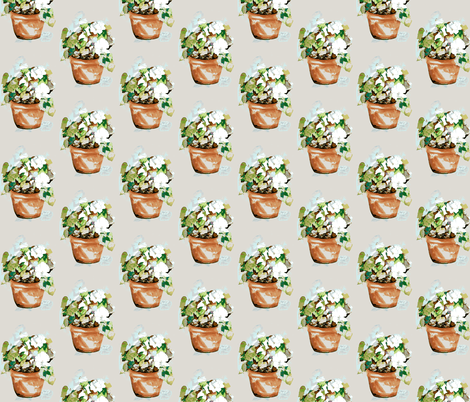Petunia Cachets fabric by karenharveycox on Spoonflower - custom fabric