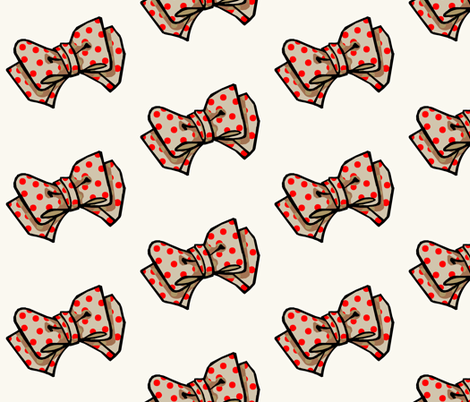 The Lisa fabric by amy_malcolm on Spoonflower - custom fabric