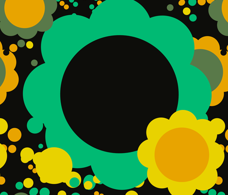 flower pops fabric by design_habit on Spoonflower - custom fabric