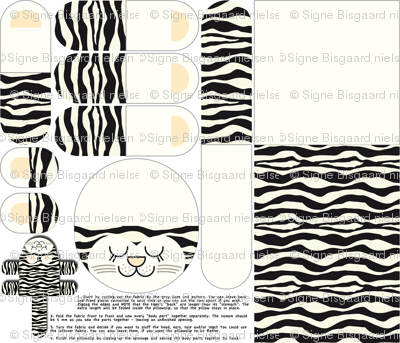 Siberian Tiger Pillow Slip