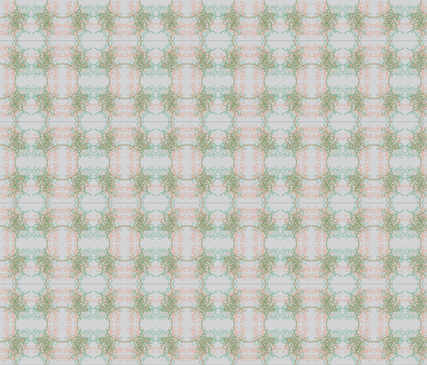 Grey Plant fabric by kelsey_joronen on Spoonflower - custom fabric