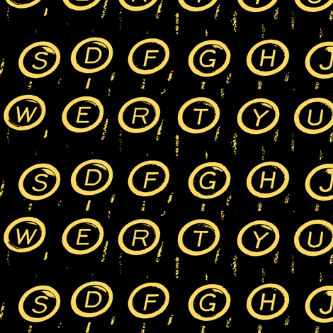 (Q)WERTY Gold