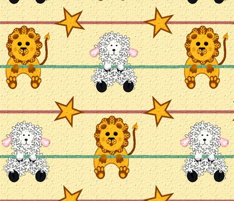 Just Hangin' fabric by jabiroo on Spoonflower - custom fabric
