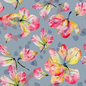 Pink Shower Blossoms