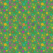 Fairytale Flower Pattern