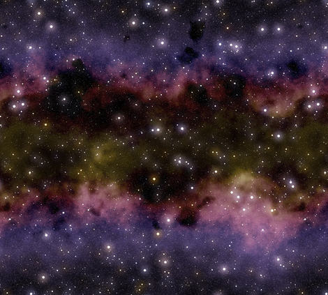 Nebula field fabric by bonnie_phantasm on Spoonflower - custom fabric